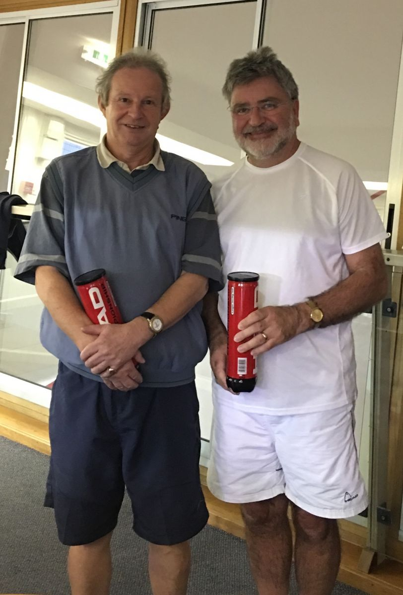 MD Consolation Winners - Mike Williams (l) and Keith Mason (r)